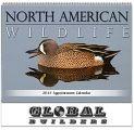 "Custom ""North American Wildlife"" Cheap Promotional Calendars"