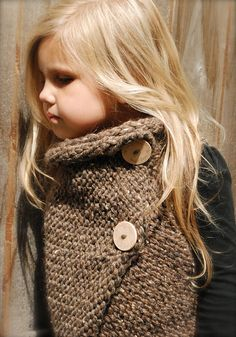 Knit Wrap For Girls