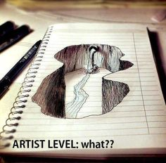 Artist Level:what? Oh my gosh!