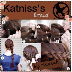 Katnisss braid #2 by tipgirlsofpanem on Polyvore