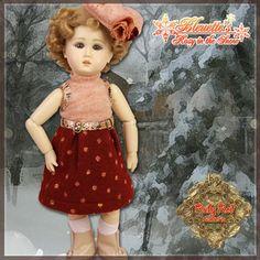 EC0033B Rosy in the Snow (no wig) - Bleuette Cloth Set [EC0033B] - $60.90,