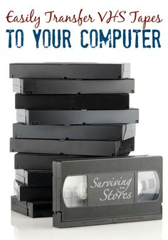 How to Transfer VHS Tapes to Your Computer! - - Transferring VHS tapes to your computer is MUCH easier than you think! Find out how to save those precious family memories with this quick video! Computer Help, Computer Technology, Computer Tips, Computer Projects, Foto Fun, Vhs To Dvd, Tech Hacks, Photo Storage, Simple Life Hacks