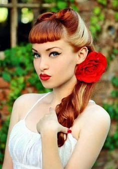 Rockabilly Frisuren als absoluter Hairstyl-Trend