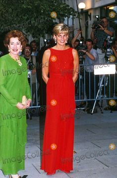 Princess Diana_elizabeth Dole Red Cross Ball Washington DC 06-17-1997 Photo by Dave Chancellor/alpha/Globe Photos,inc.