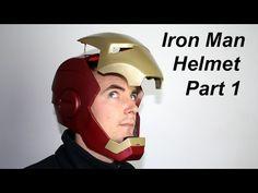 ▶ ▶ ▶ XRobots - Iron Man Cosplay Electronic Motorized Helmet Faceplate VERSION 2, PART 1 - YouTube