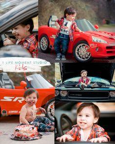 first birthday #boy car photo idea #cars #boy photo idea