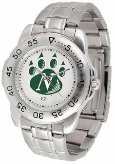 Northwest Missouri State University Bearcats Sport Steel Band - Men's - Men's College Watches by Sports Memorabilia. $50.76. Makes a Great Gift!. Northwest Missouri State University Bearcats Sport Steel Band - Men's