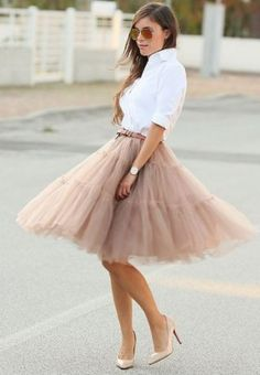 Ces+robes+en+tulle+repérées+sur+Pinterest+nous+font+rêver