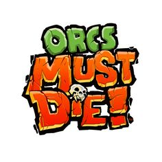 GameLogos: Orcs must Die logos Typography Logo, Art Logo, Logo Branding, Lettering, Bg Design, Game Logo Design, Design Styles, Design Ideas, Interior Design