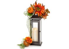 Luminara Fall Flowers Lantern