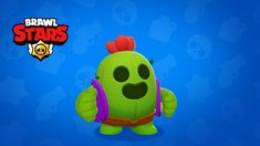 ArtStation - BRAWL STARS - Spike, Supercell Art Paul Chambers, Group Picture Poses, Star Pinata, Star Character, Football Birthday, Star Background, Fanart, Star Wallpaper, Star Party
