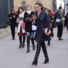 paris #pfw / look do dia college dior