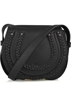 marcie small leather cross body bag ++ chloe