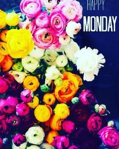 #flowers #happy #bright #happymonday