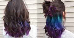 Underlights: The rainbow hair-dye you can sport at the office | New Hair, Trends and Colour
