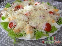 Рецепт-Салат цезарь | Салаты