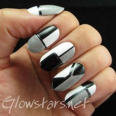 Little doves that send my mind and heart a-beating: A manicure using All That Jazz Ice Ice Baby, Leighton Denny Liquid Silver, Misa I Will S...