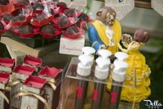 """Beauty and The Beast inspired Favors from a """"Once Upon a Time"""" Fairytale Birthday Party via Kara's Party Ideas! KarasPartyIdeas.com (27)"""