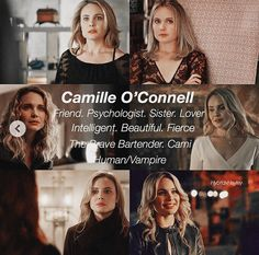 She was so beautiful Vampire Diaries The Originals, Vampire Diaries Cast, Hayley And Klaus, Bonnie And Enzo, Originals Season 1, The Originals Tv, The Originals Camille, Netflix, Stefan And Caroline