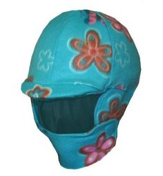 Fleece Equestrian Riding Helmet Cover - Turquoise Garden by Helmet Covers Etc.. $26.95. Winter fleece covers go over your riding helmet and wrap around your neck to help keep you warm during those chilly rides!