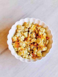 Potato salad | Jamie Oliver recipes Potato Recipes, Veggie Recipes, Salad Recipes, Vegetarian Recipes, Cooking Recipes, Savoury Recipes, Side Recipes, Great Recipes, Potato Nutrition