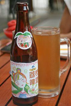 Taiwanese Lychee Beer