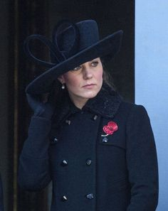 Royals paying their respects for Remembrance Day, Nov. 11, 2012