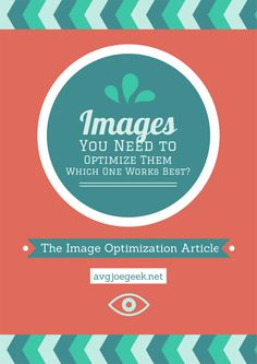 Find out what Image Optimization Service/Plugin/Program works the best! Also why you should be optimizing your images, using the correct file size for your WordPress site and more inside the latest article for avgjoegeek.net