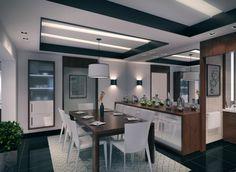 modern dinning room design contemporary apartment