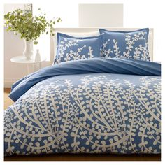 • 100% cotton construction<br>• Button closure<br>• Branches pattern<br>• Machine washable for easy care<br><br>Give your bedroom a beautiful update with the City Scene Branches Duvet Set. The timeless pattern has endless visual appeal and will become the focal point of your room. Made of 100% durable cotton, this set will provide long-lasting style and comfort.