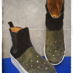 Botas en gamuza
