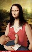 breastfeeding Mona Lisa
