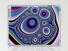 abstract cirles Laptop & iPad Skin by Christy Leigh - $25.00