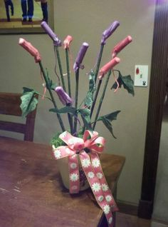 Playtex Plant - made for hysterectomy gift.