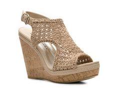 Audrey Brooke Walta Wedge Sandal Women's Wedge Sandals All Women's Sandals Sandal Shop - DSW
