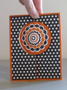 Swing Card.  Five-way Flower from Stampin' Up!