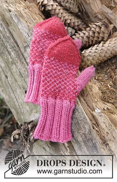Children - Free knitting patterns and crochet patterns by DROPS Design Knitting For Kids, Free Knitting, Baby Knitting, Fair Isle Knitting Patterns, Sweater Knitting Patterns, Crochet Mittens, Mittens Pattern, Knitted Hat, Drops Design