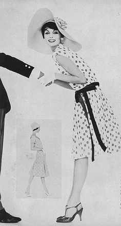 Anne St Marie, May Vogue 1958