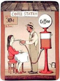 Caffee Station -Love it Coffee Talk, Coffee Is Life, I Love Coffee, Coffee Break, My Coffee, Morning Coffee, Coffee Cups, Coffee Lovers, Funny Coffee