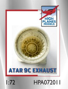 High Planes Dassault Mirage IIIE O Atar exhaust pipe Accessories