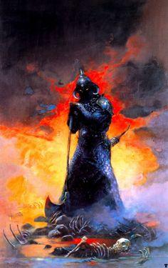 Frank Frazetta Death Dealer Art - Bing images