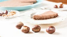Chestnut Mousse Tart - to Real Life Pre Christmas, Squashes, Edible Plants, Good Mood, Mousse, Tart, Almond, Stuffed Mushrooms, Dishes
