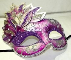 Venetian Flower Style Purple and Pink Masquerade Mask by K.B.W. Global Corp, http://www.amazon.com/dp/B00AY3VIOK/ref=cm_sw_r_pi_dp_mwKhrb1N4186G