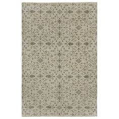 Capel Rugs Heavenly Gray Hand Knotted Wool Rug @LaylaGrayce