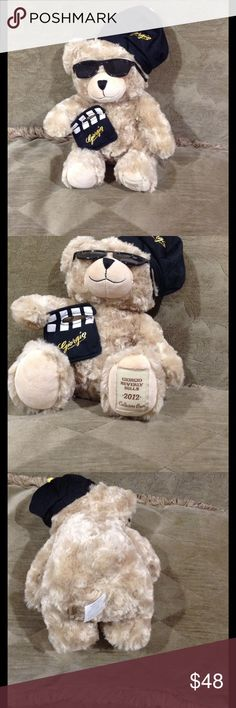 Giorgio Beverly Hills 2012 Collectors Bear Adorable soft collect all bear. Giorgio Beverly Hill 2012 He has his hat, shades and directors board. Other
