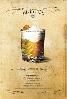 ESQUIRE UK – WOODFORD SPECIAL by jaume vilardell, via Behance | #bourbon
