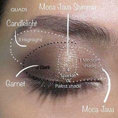 Create the perfect Eye look with ShadowSense. All day eyeshadow.   http://senegence.com/tammytamayo #shadowsense #lipsense #senegence #eyeshadow