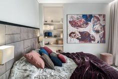 20 najpiękniejszych sypialni 2019 roku - Galeria - Dobrzemieszkaj.pl Boho Chic, Gallery Wall, Bedroom, Home Decor, Bedrooms, Block Prints, Trends, Art, Decoration Home