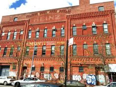 It's a haunting relic of New York's manufacturing glory days, and it sits less… Beautiful Ruins, Boarding House, Crown Heights, Red Bricks, Vaulting, Lodges, Brewery, Facade, Brooklyn