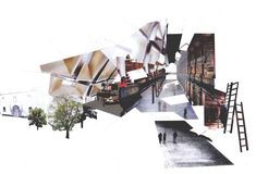 enric miralles collage - Google Search #architectureportfolio